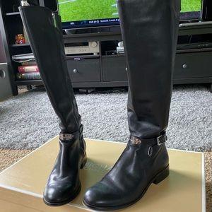 Michael Kohrs Arley Riding Boot Black Leather - 9M